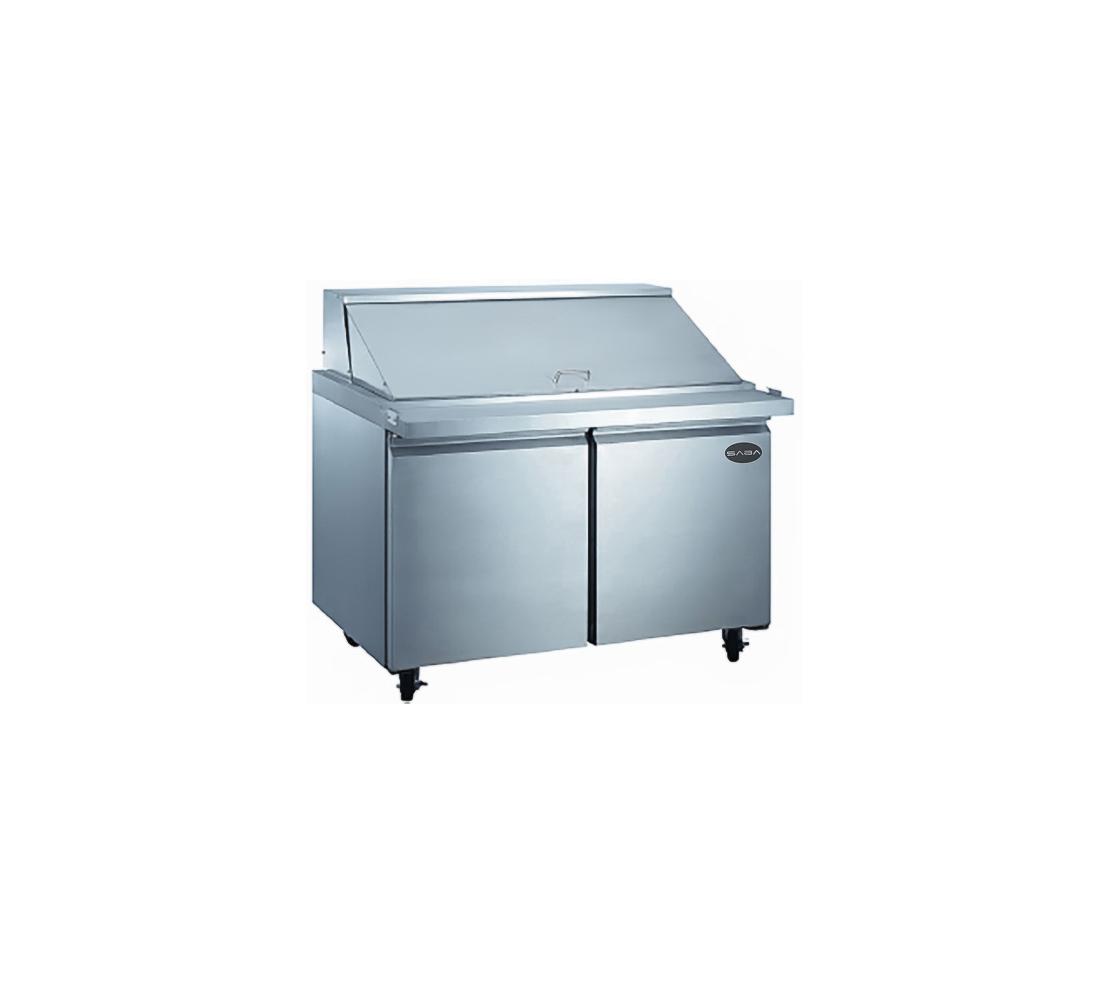 Saba Air SPS 48 18M 48 2 Door 18 Pan Refrigerated Mega