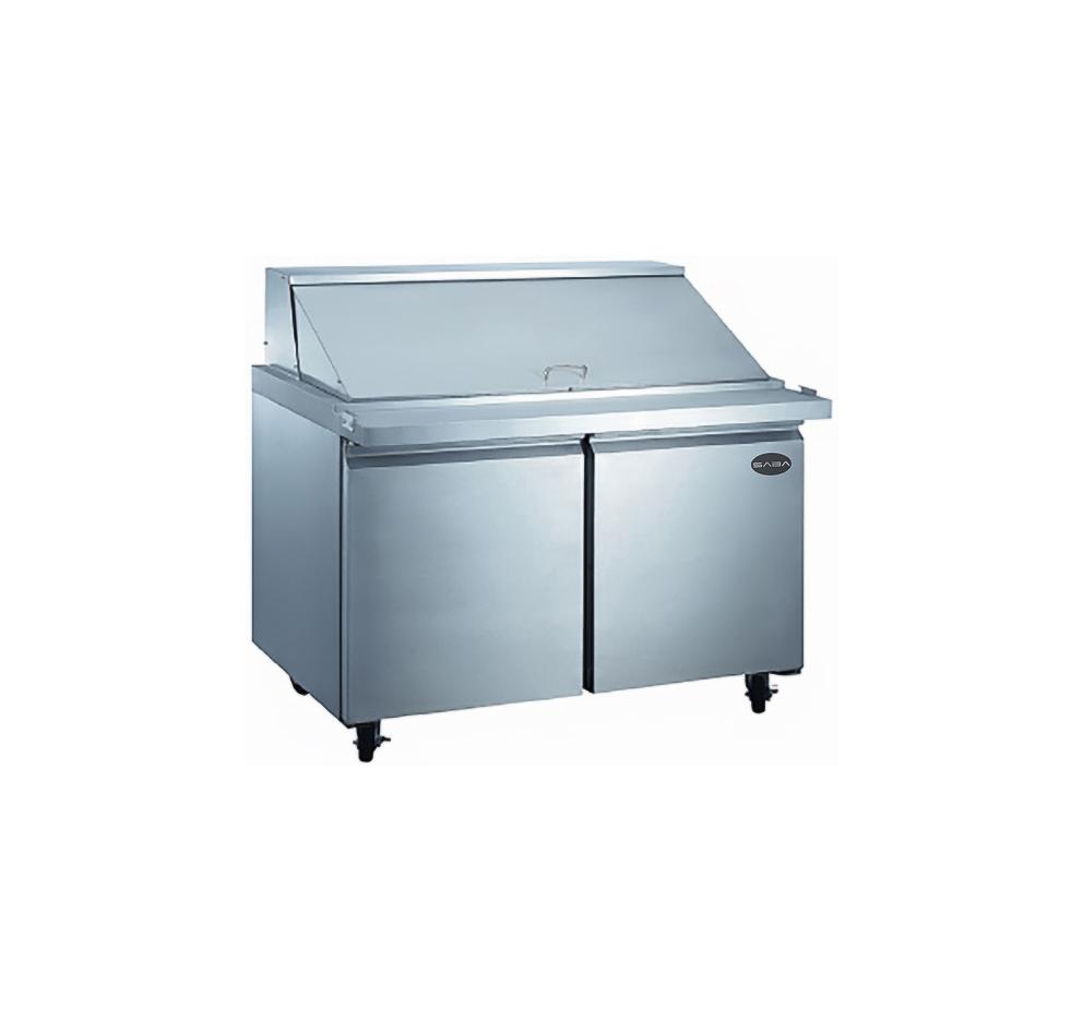 Saba Air SPS 60 24M 60 2 DOOR 24 Pan Refrigerated Mega